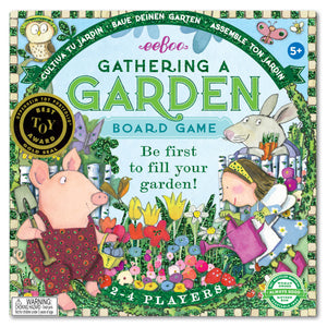 gold foil board game | gathering a garden