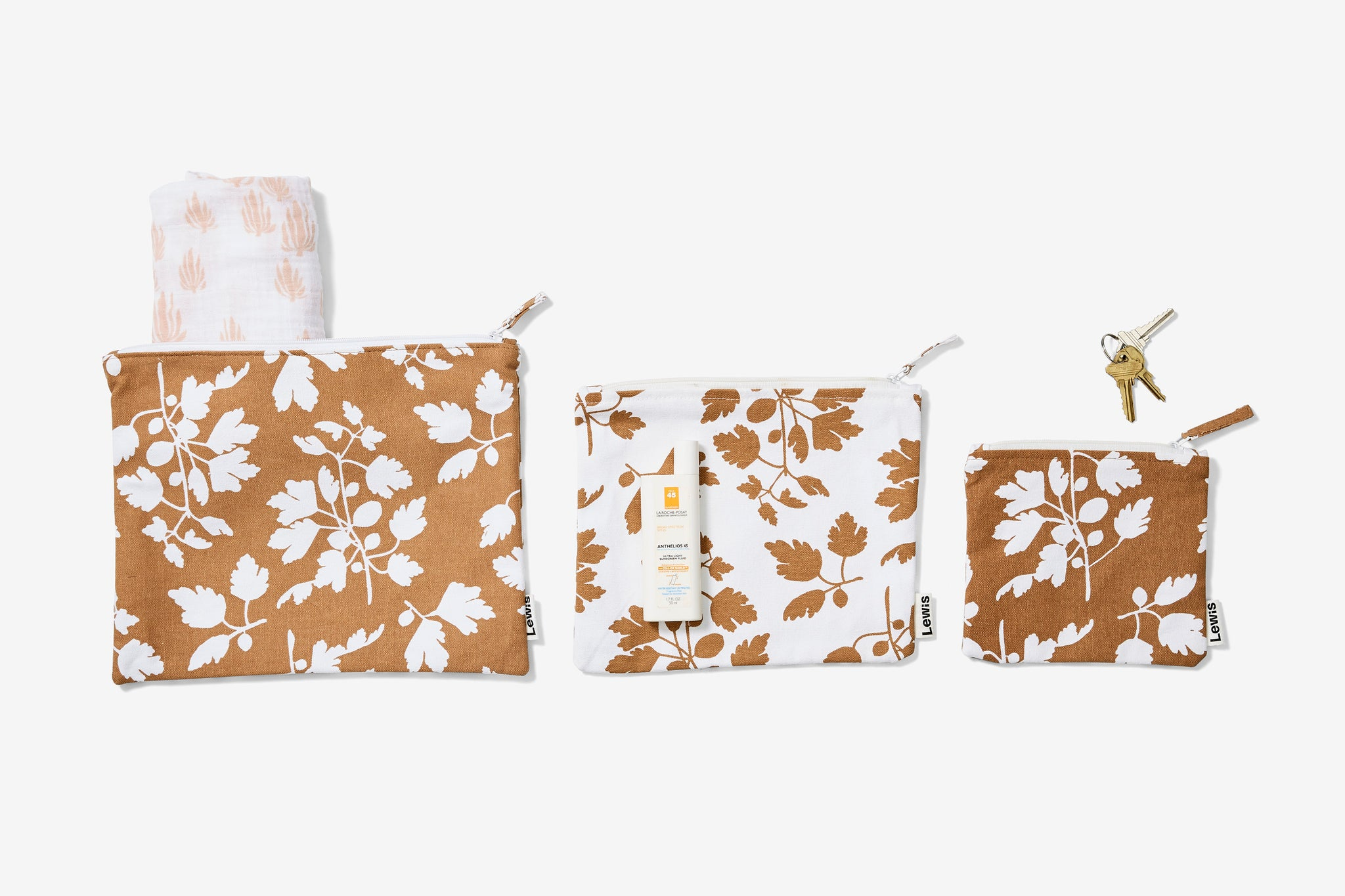 zip pouch set | fig