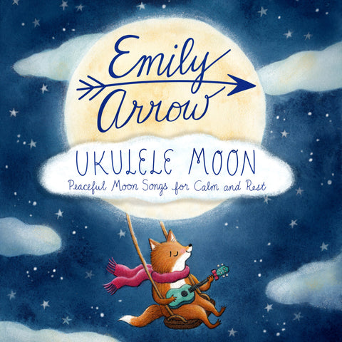 ukulele moon: peaceful moon songs for calm and rest