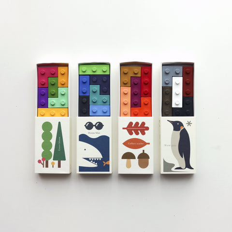 pocket crayon set | seasons