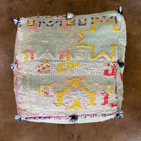 moroccan floor cushion | no. 2