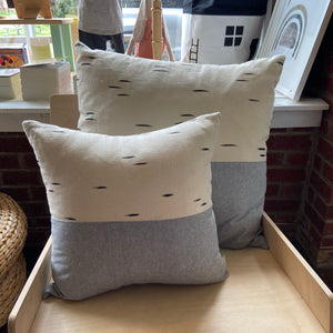 ice throw pillow | birch