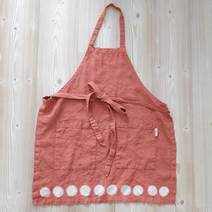 apron | moon - adobe