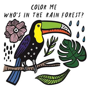 color me: who's in the rainforest bath book