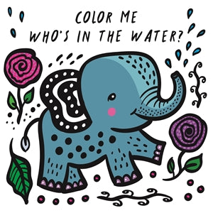 color me: who's in the water bath book