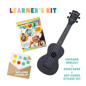 (preorder) learner's kit | color chord - black