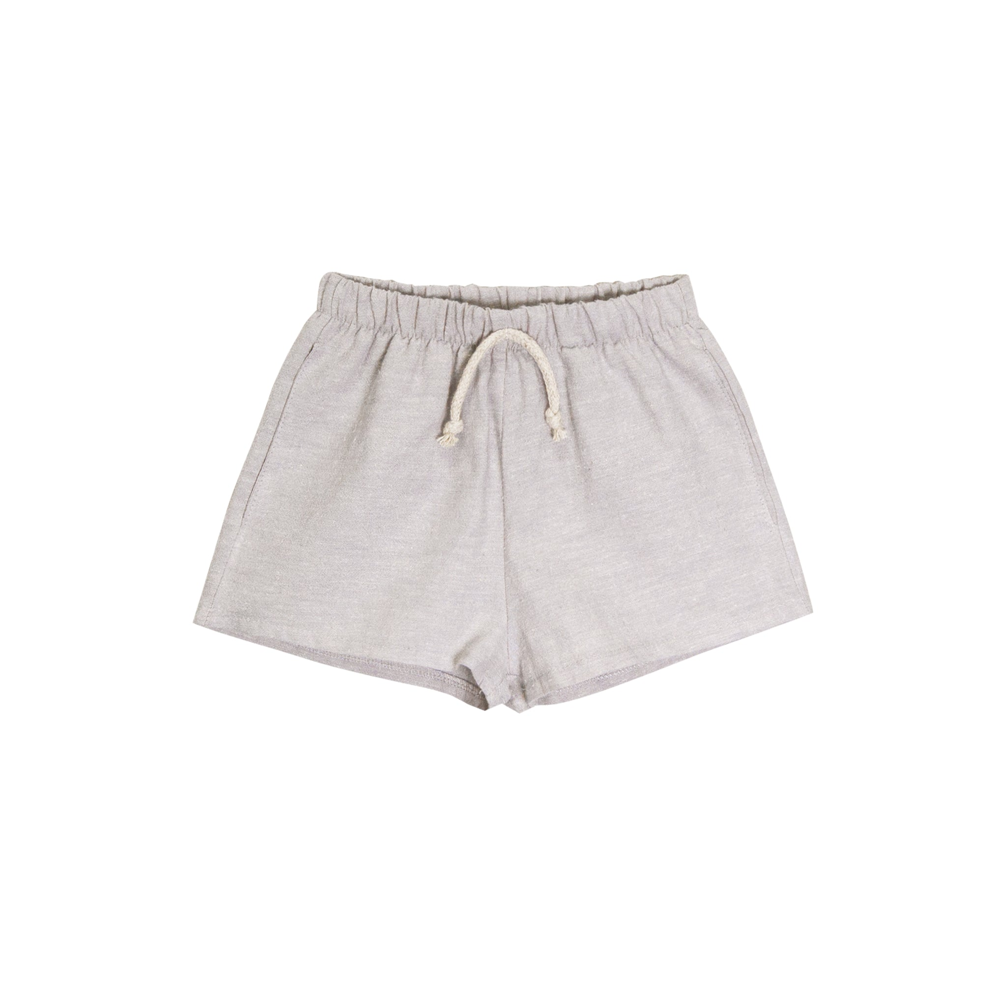 lawn short | dove gray