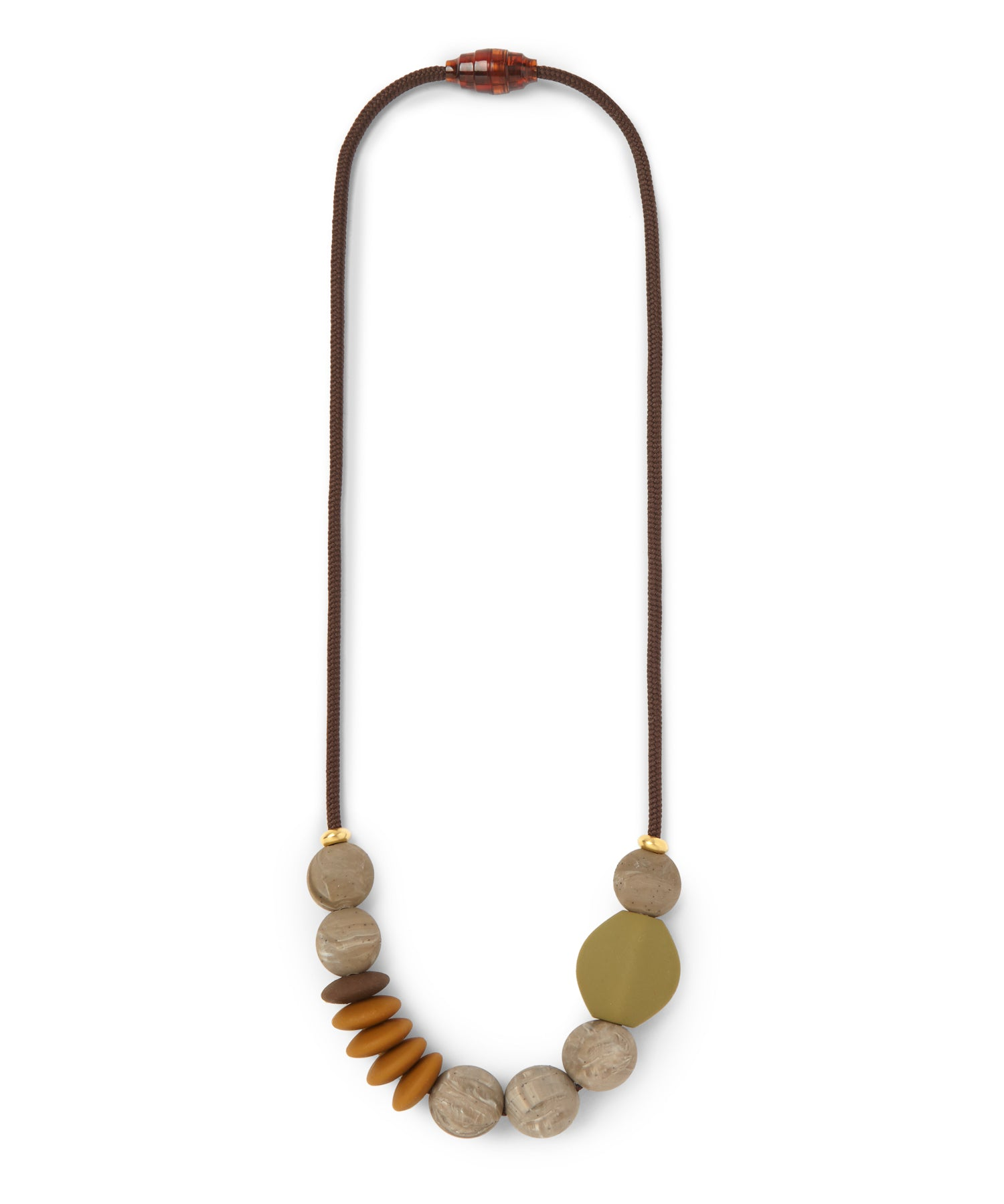 signature teething necklace | saddle