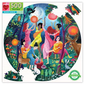 500 piece puzzle | moon dance