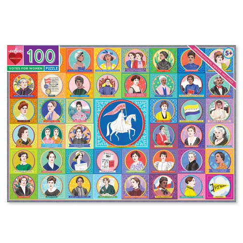 100 piece puzzle | votes for women