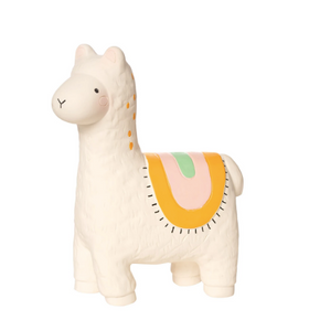 lili llama fruity paws rubber teether