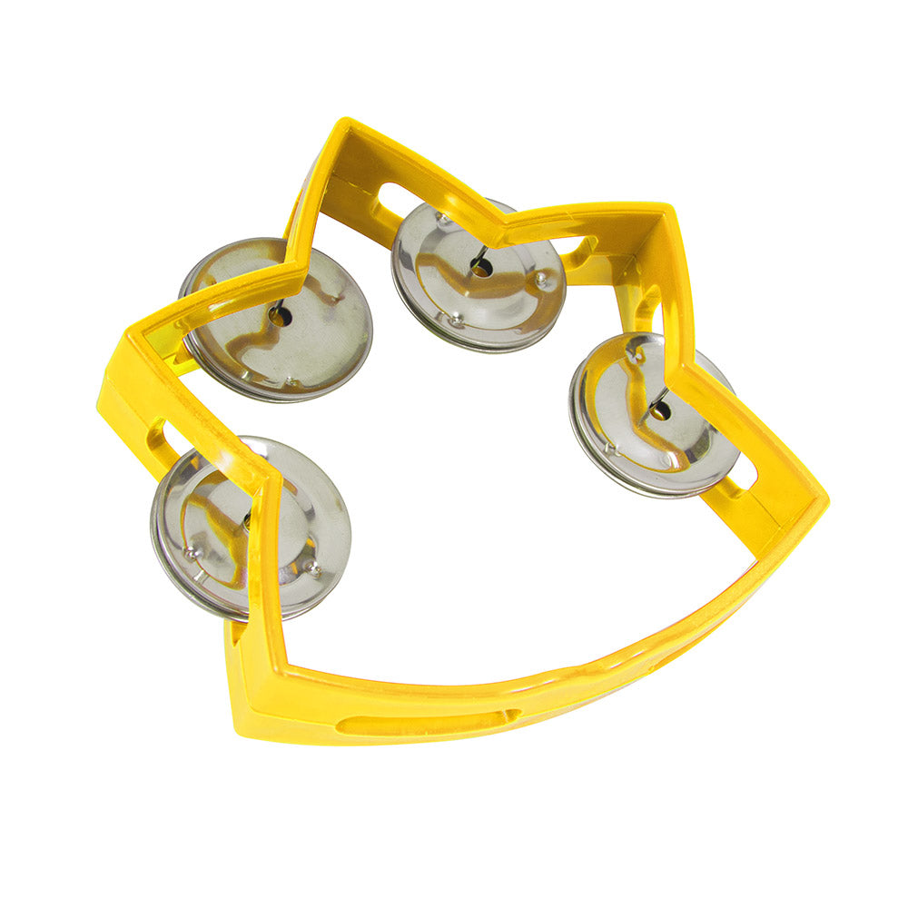 star tambourine | yellow
