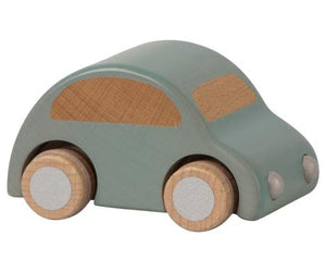wooden car | light blue