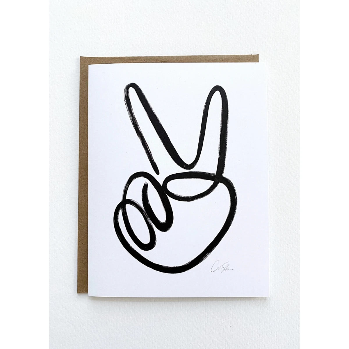 greeting card set | peace sign