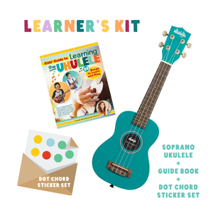 learner's kit | ukadelic - blue