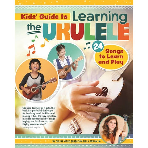 (preorder) kids' guide to learning the ukulele + dot stickers