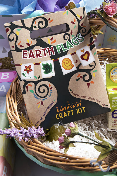 earth flags craft kit