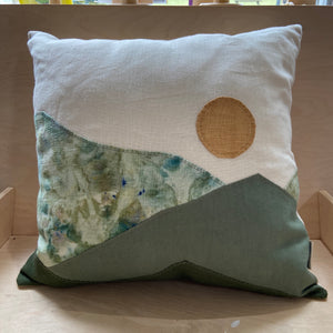 throw pillow | greens