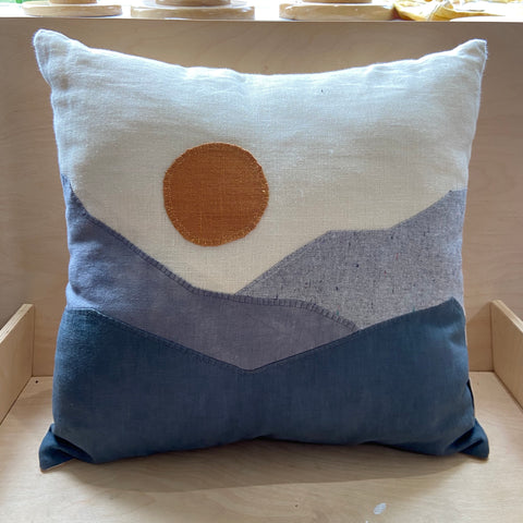 throw pillow | blues