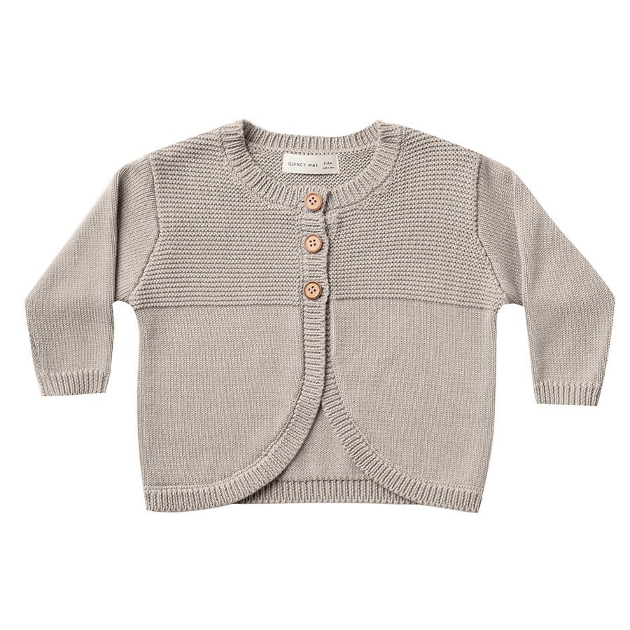 knit cardigan | fog