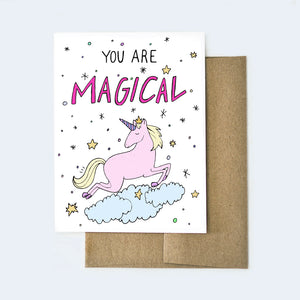 you are magical (unicorn)