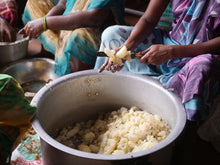 Load image into Gallery viewer, Children rescued from modern slavery and human trafficking are cared for mainly by local widows. These widows cook, clean, counsel and befriend children who have survived the trauma and abuse of child sex and labor trafficking.