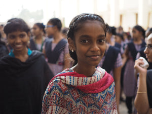 Vahini has a chance at a new life, and she is committed to fighting slavery by giving back to help other children harmed by human trafficking.