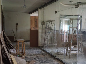 The unfinished counseling center will help children who have escaped human trafficking and slavery by offering trauma care when it is completed