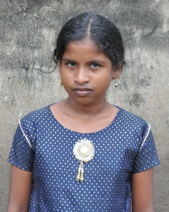 Little girl rescued from human trafficking