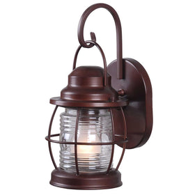Home Decorators Harbor Small Exterior Wall Lantern Bronze-OB