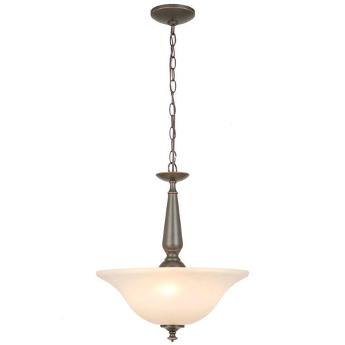 Commercial Electric 3-Light Pendant Oil Rubbed Bronze-OB