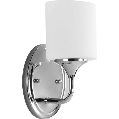 Progress Lighting Lynzie 1-Light Bath Vanity Chrome-OB
