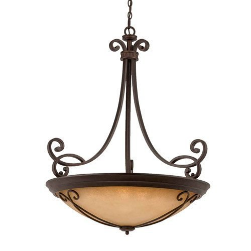 Triarch International Corsica 10-Light Pendant Fixture English Bronze