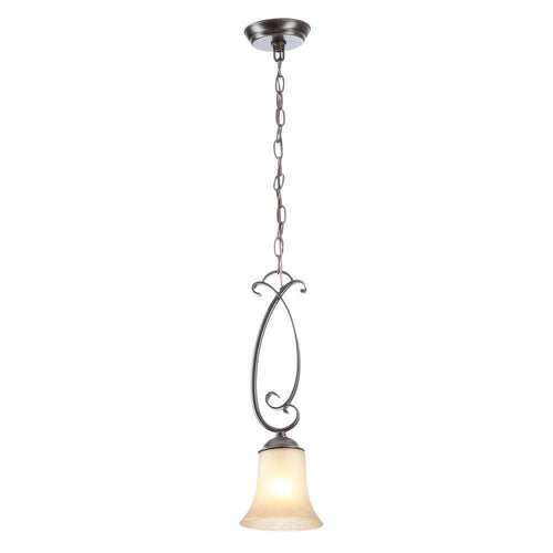Hampton Bay Essex Mini Pendant Fixture Aged Black