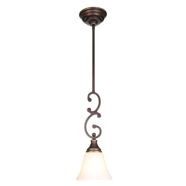 Hampton Bay Somerset Mini-Pendant Fixture Bronze