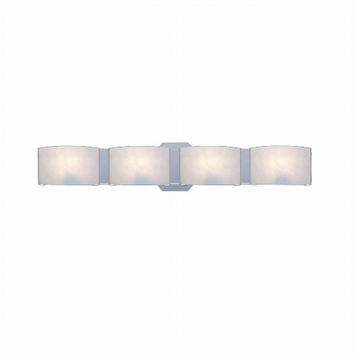 Hampton Bay Dakota 4-Light Vanity Fixture Satin Nickel-OB