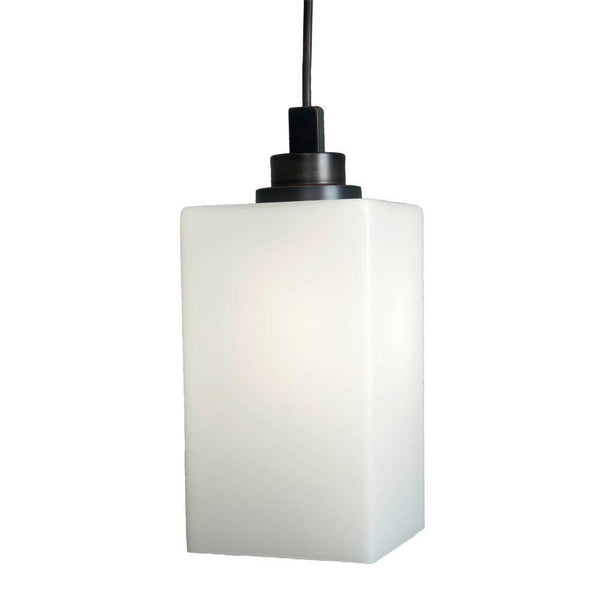 Home Decorators Box Pendant Light Dark Bronze-OB