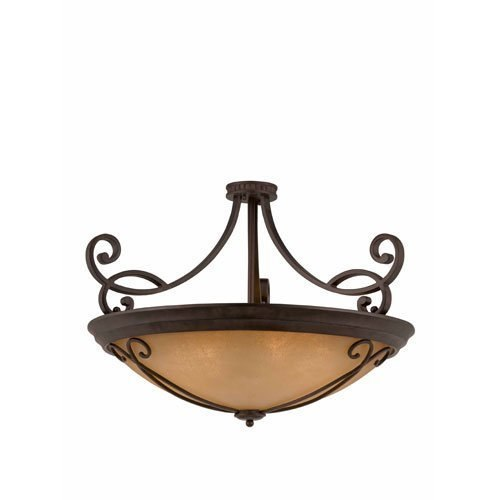Triarch International Corsica Semi-Flush Pendant English Bronze