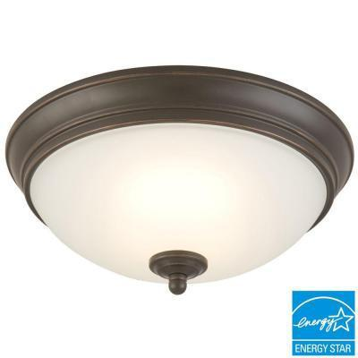 Commercial Electric LED 17-120watt Bronze Ceiling Light-OB