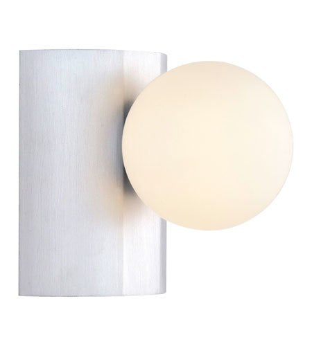 Eglo USA Neso 1-Light Wall Scounce Aluminum