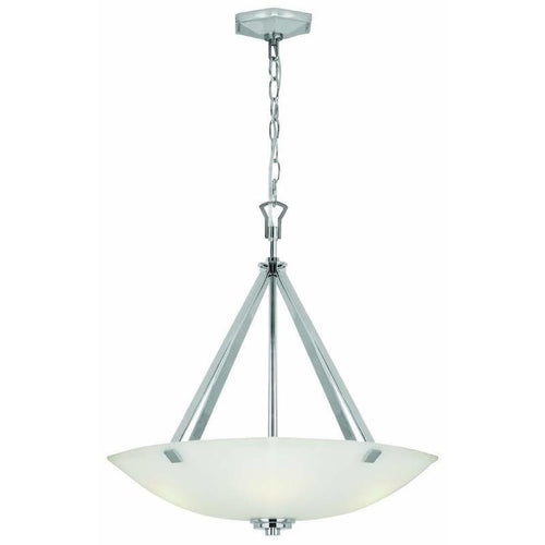 Home Decorators Sydney 3-Light Pendant Polished Nickel