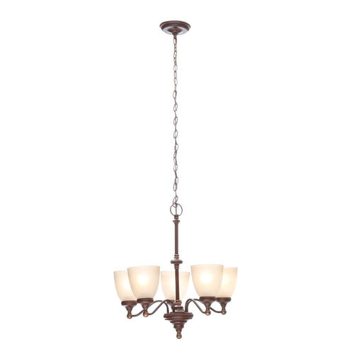 Hampton Bay Home Depot Bristol chandelier FNK8115A-3 229507 6940500310770