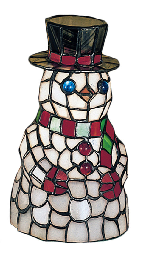 Meyda Tiffany Snowman Table Accent Lamp 18461 705696184613