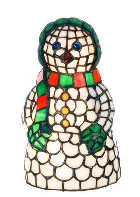 "Meyda Tiffany 8.5""H Snow Woman Accent Lamp"