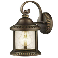 Home Decorators Cambridge Medium Exterior Wall Lantern Essex Bronze-OB