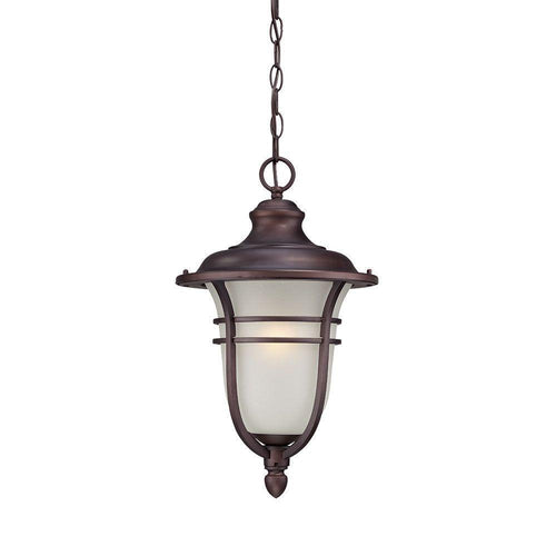 Acclaim Montclair 1-Light Outdoor Hanging Fixture Architectural Bronze-OB
