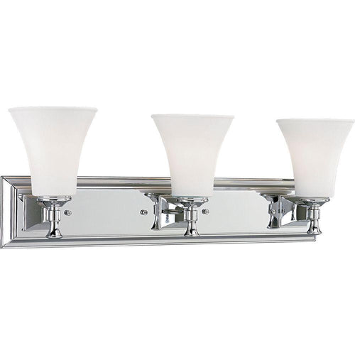 Progress Lighting Fairfield 3-Light Vanity Light Chrome-OB