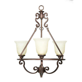 Home Decorators Fairview 3-Light Chandelier Heritage Bronze