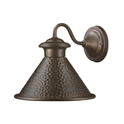 Home Decorators Essen Medium Exterior Wall Lantern Antique Copper-OB