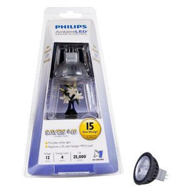 Philips LED GU5.3 MR16 04=20 watt 3000k Light Bulb
